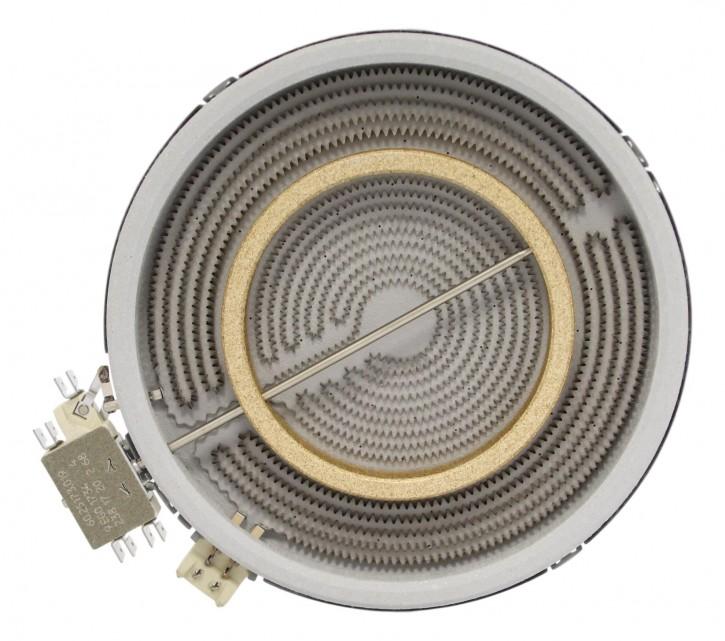 10.51213.034 HiLight-Heizkörper 2200/750 Watt 230 Volt Zweikreis
