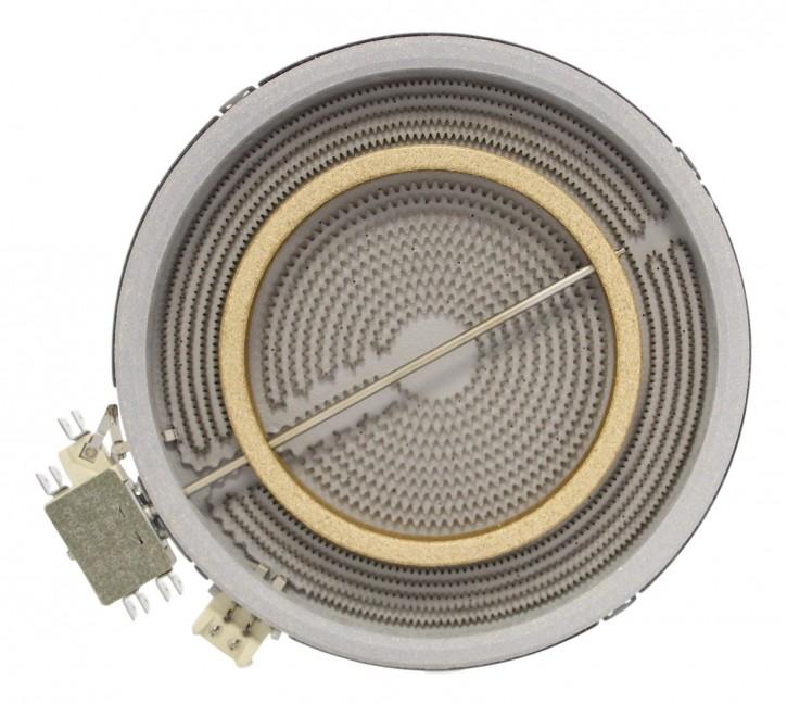 10.51213.432 HiLight-Heizkörper 2200/1000 Watt 230 Volt Zweikreis