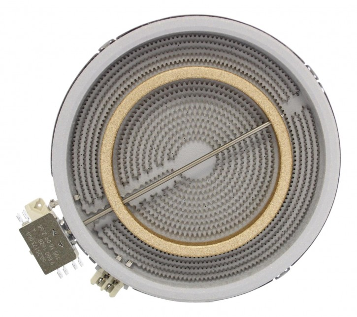 10.51216.412 HiLight-Heizkörper 2000 Watt 230 Volt Zweikreis