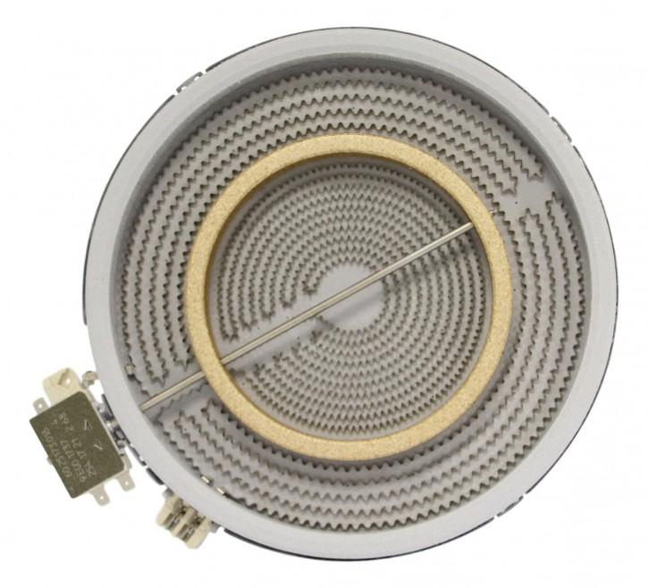 10.53211.004 HiLight-Heizkörper 2500/1100 Watt 230 Volt Zweikreis