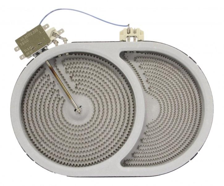 10.57411.604 HiLight-Heizkörper 2400/900 Watt 230 Volt Zweikreis