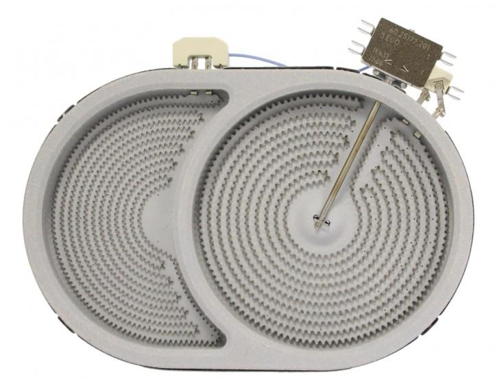 10.57413.688 HiLight-Heizkörper 2400/800 Watt 230 Volt Zweikreis
