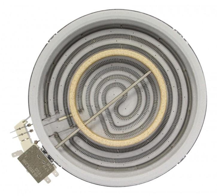 10.71261.004 EGOnomic-Heizkörper 2100/650 Watt 230 Volt Zweikreis