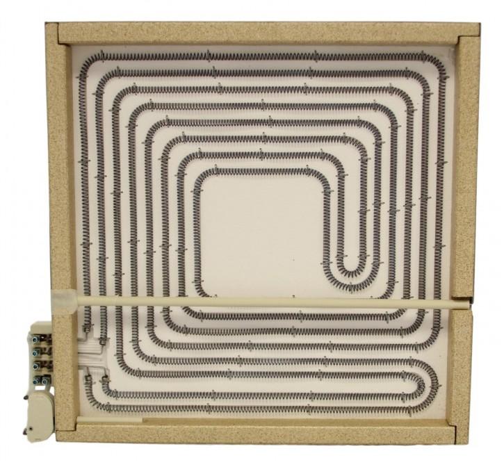 10.77828.006 Großküchen-SHK 4000 Watt 400 Volt ohne Topferkennung mit Schraubanschluss