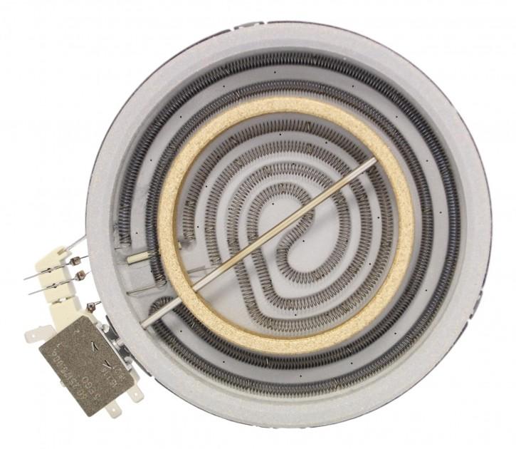10.78661.004 EGOnomic-Heizkörper 1700/650 Watt 230 Volt Zweikreis