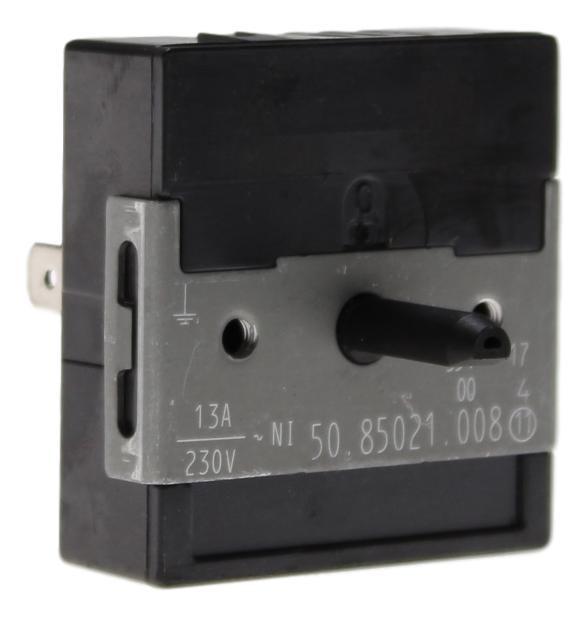 50.85021.008 Energieregler 13 Ampere 230 Volt Zweikreis mit Achse 18mm